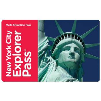 New York City 'Choose 4' Explorer Pass E-Voucher