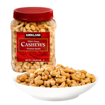 Kirkland Signature Cashew Nuts Halves & Pieces, 1.13kg