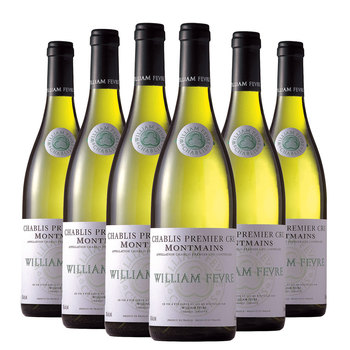 William Fevre Chablis Premier Cru Montmains 2017, 6 x 75cl