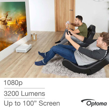 Optoma GT5000+ Full HD 3D Ultra Short Throw Projector