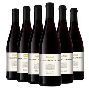 Kirkland Signature Russian River Valley Pinot Noir 2017, 6 x 75cl