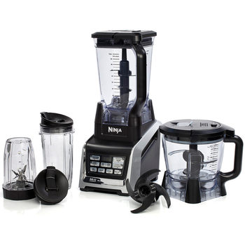 Ninja Complete Food Processor with Auto-iQ with Stainless Steel Thermal Cup, BL682UKCO2