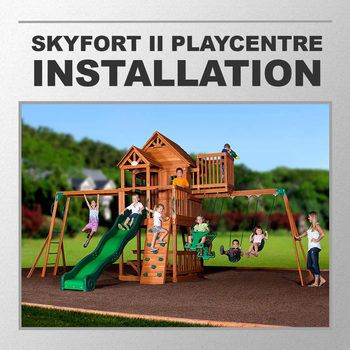 Installation Service for #239300 Backyard Discovery Skyfort 2 Playcentre