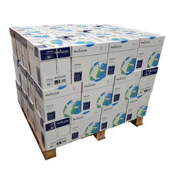 Navigator Expression A4 90gsm White Pallet of Paper - 120,000 sheets