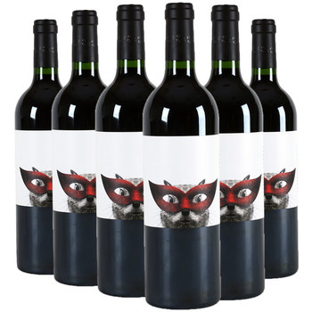 Secret Squirrel Red Wine, 2013 6 x 75cl