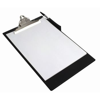 Rapesco Heavy Duty Black A4 Clipboard