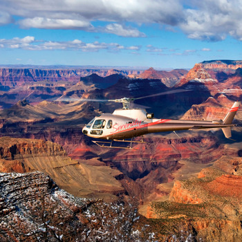 Air Serenity Helicopter Tour of The Grand Canyon E-Ticket