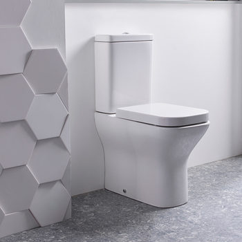 Tavistock Structure Fully Enclosed Toilet with Soft Close Seat and Cistern - Model WCF450S