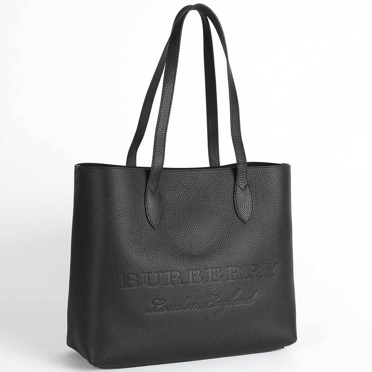 Burberry Large Embossed Leather Tote   Costco UK 3135220ba0