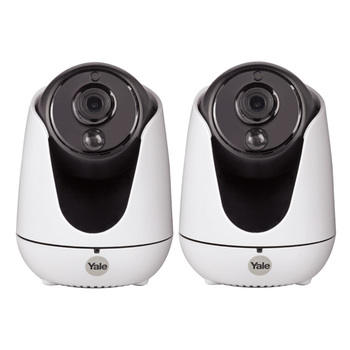 Yale Home View Pan Tilt Zoom IP Camera Twin Pack