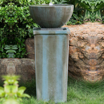 "Zen Bowl 45"" (114 cm) Outdoor Fountain"