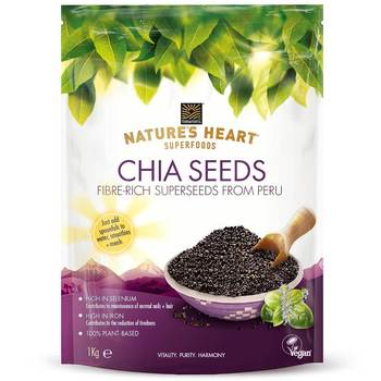 Terrafertil Nature's Heart Chia Seeds, 1kg
