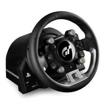 Thrustmaster T-GT: PlayStation 4 and Gran Turismo Officially Licensed Leather-Wrapped Racing Wheel, Compatible with PlayStation 4, PC