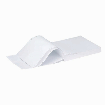 Q-Connect 2-Part 60gsm White and Pink Listing Paper Pack of 1000