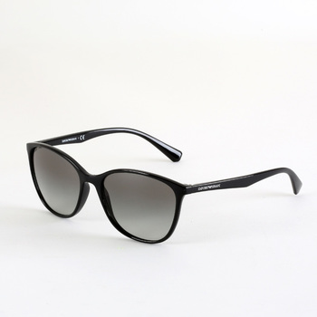 Emporio Armani Black Sunglasses with Grey Lenses, 4073 5017-11