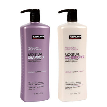 Kirkland Signature Professional Salon Formula Moisture Shampoo and Conditioner, 2 x 1L