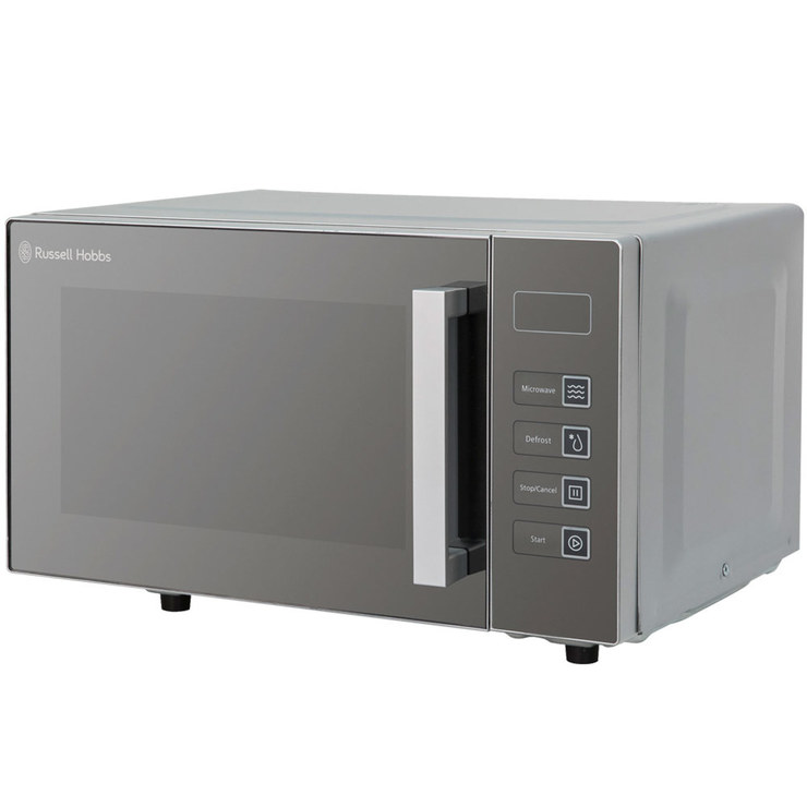 Russell Hobbs RHEM2301S 800W Solo Flatbed Microwave In