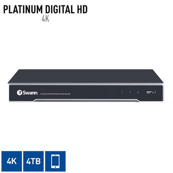 Swann NVR16-8000 4K Ultra HD 16 Channel Network Video Recorder