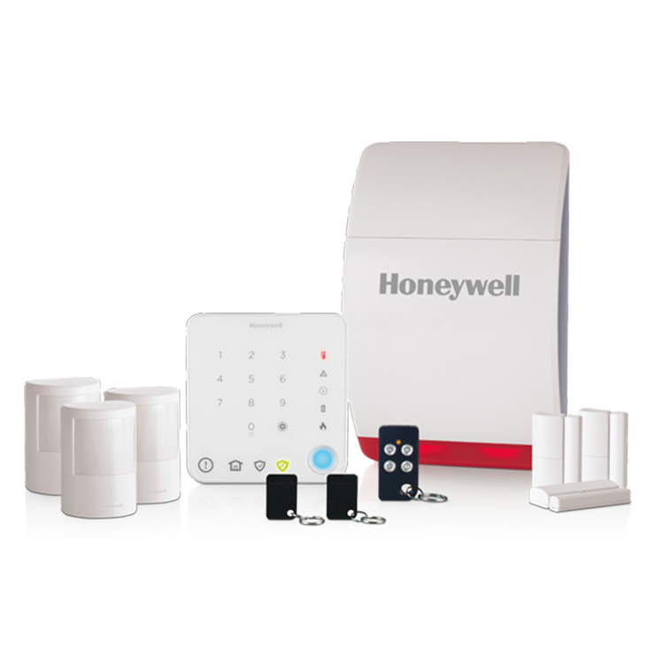 Honeywell wireless family home alarm kit with intelligent control honeywell wireless family home alarm kit with intelligent control model hs351s solutioingenieria Image collections