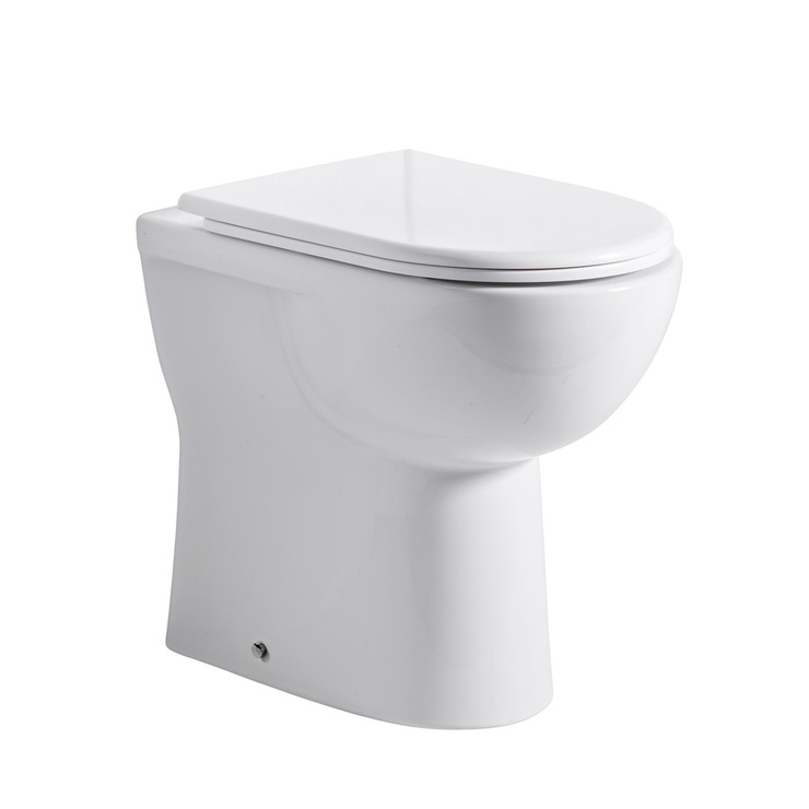 Tavistock Micra Comfort Height Back To Wall Toilet With