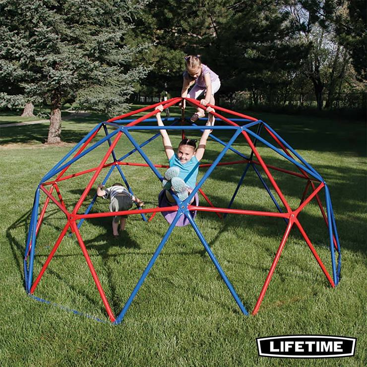Lifetime Geometric Dome Climber in Red/Blue | Costco UK