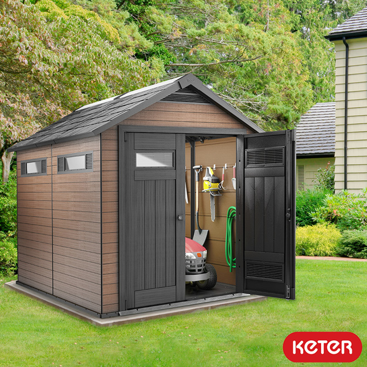 Keter Fusion 7ft 6 Quot X 9ft 5 Quot 2 3 X 2 9m Shed Costco Uk