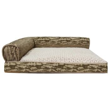 Kirkland Signature 91 x 106 cm Memory Foam Bolster Bed in Brown
