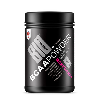 Bio-Synergy Raspberry BCAA Powder, 360g (30 Servings)