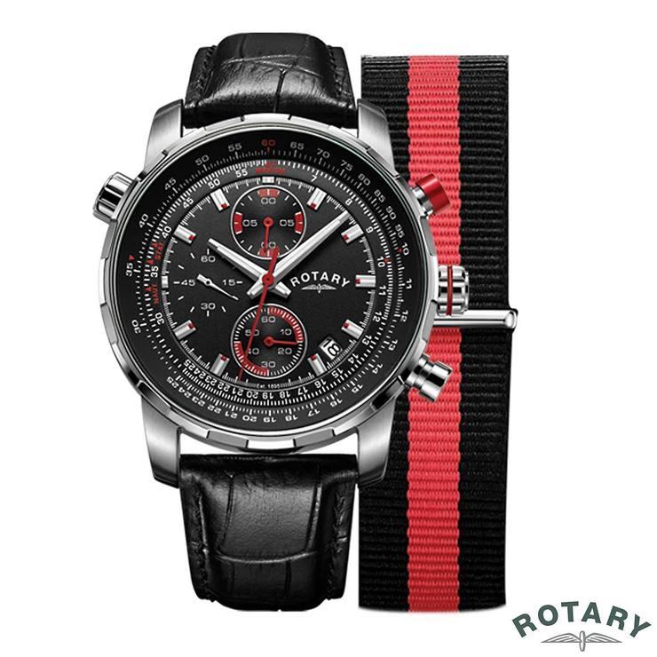 rotary interchangeable gents swiss watch gs00195 04 kit costco uk