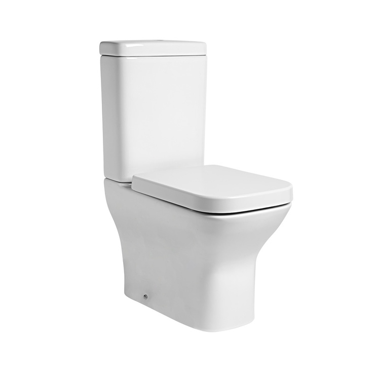 Tavistock Structure Fully Enclosed Toilet With Soft Close
