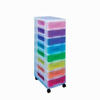 Really Useful 8-Drawer Tower Multi-Coloured