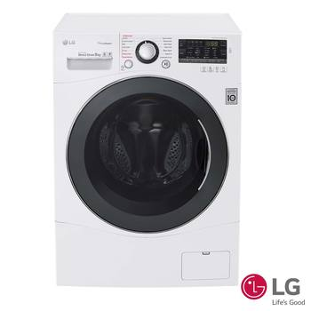 LG 8kg 1400rpm Steam Washing Machine FH4A8TDS2, A+++ -40% Rating in White