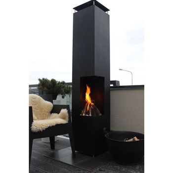 GardenMaxX Tacora XL Outdoor Fireplace in 2 Colours