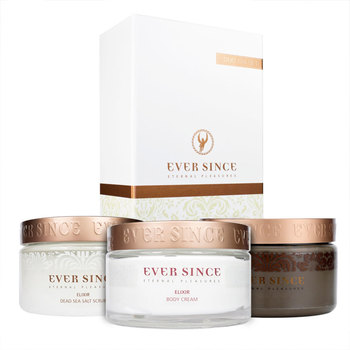 Ever Since Spa Trio Gift Set: 100% Pure Dead Sea Mud Mask, Salt Scrub & Body Cream