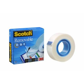 Scotch Magic Tape 19mm x 33m Removable