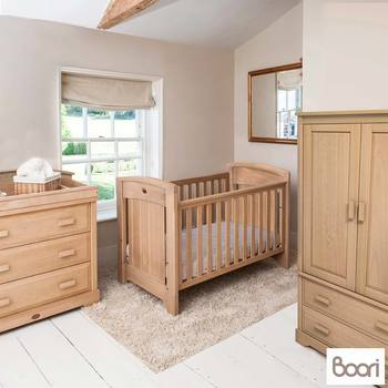 Boori Classic Royale 4 Piece Nursery Room Set in Almond