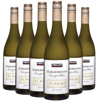 Kirkland Signature Ti Point Marlborough Sauvignon Blanc 2019, 6 x 75cl