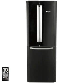 Hotpoint FFU3D K, A+ Rating, Fridge Freezer (Fridge 302L, Freezer 148L)