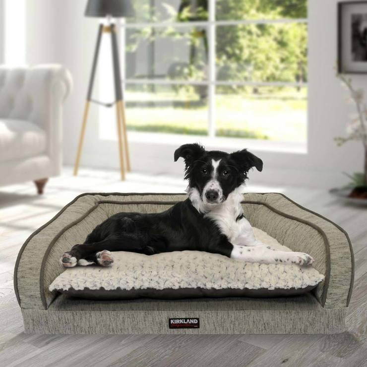 costco cm x bed kirkland bolster dog uk grey sofa p c in signature beds