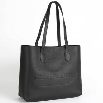 Burberry Large Embossed Leather Tote