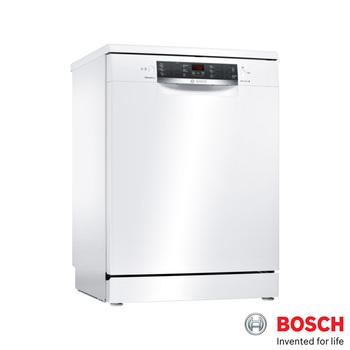 Bosch SMS46IW02G ActiveWater Freestanding 60cm, 6.5ltr Dishwasher in White