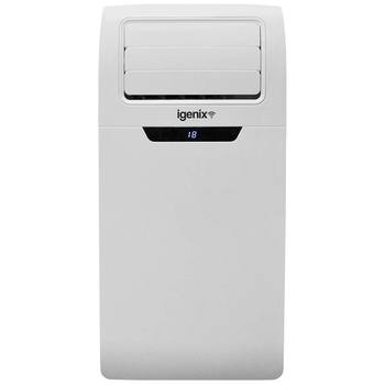 Igenix IG9901WIFI, 3-in-1 Portable Air Conditioner with Wifi, White