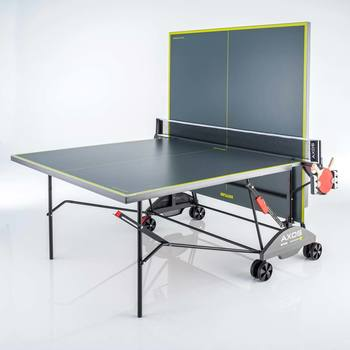 Kettler Axos 3 Indoor Table Tennis Table with 2 Bats and 3 Balls