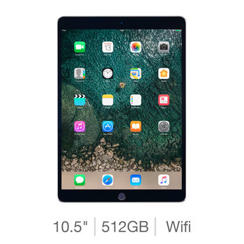 Apple iPad Pro MPGH2B/A, 10.5 Inch, 512GB with Built-in Wifi in Space Grey