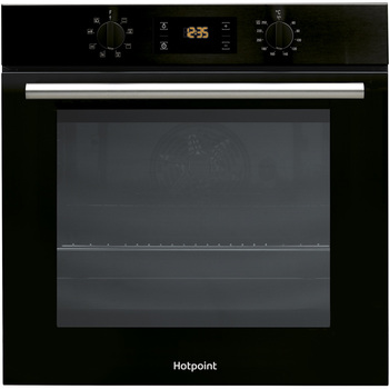 Hotpoint 66 Litre Built in Single Oven SA2540H BL in Black