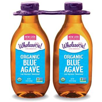 Wholesome Organic Blue Agave Low Glycemic Sweetener, 2 x 1.02kg