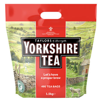 Yorkshire Tea Tea Bags, 480 Pack