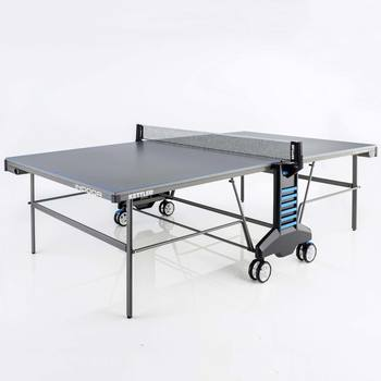 Kettler Axos 4 Indoor Table Tennis Table With 2 Bats and 3 Balls