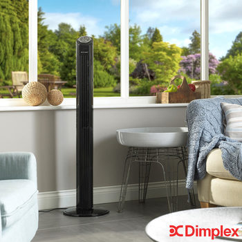Dimplex Mont Blanc Cooling Tower Fan Black