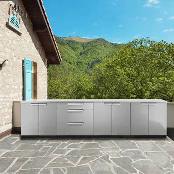 NewAge Outdoor Kitchen 18 Gauge Stainless Steel 6 Piece Set